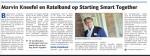 artikel de Gelderlander 20-12