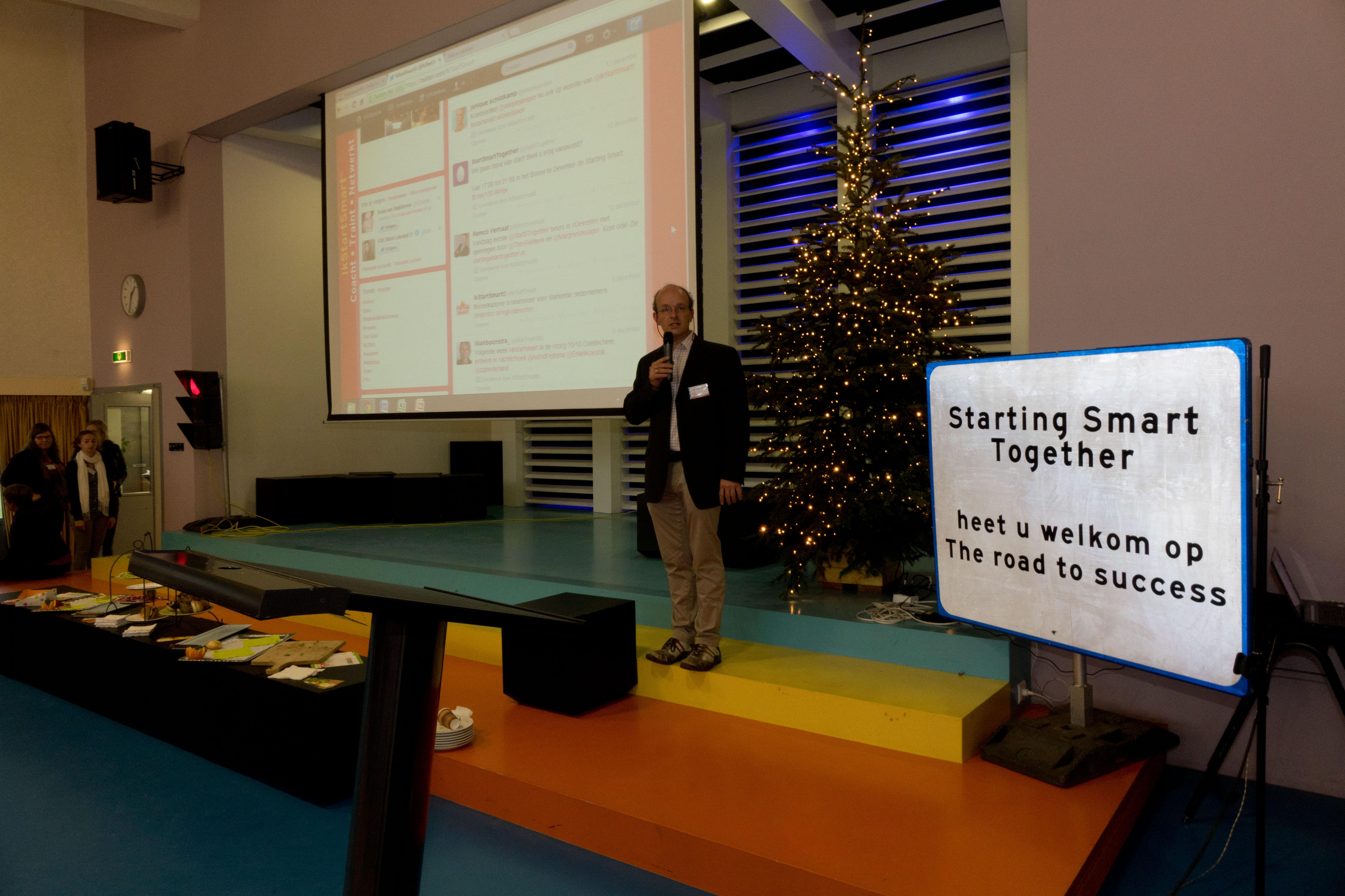 impressie van de beurs in Arnhem van 14 december 2013